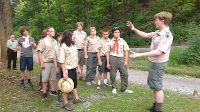 Scout meeting guyasuta 1